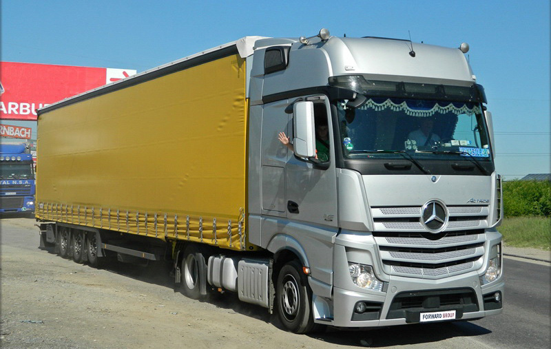 Mercedes Actros MP4 1845